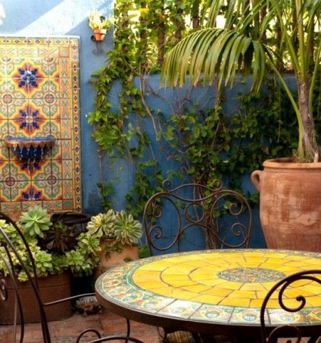 Mexican-inspired Patio