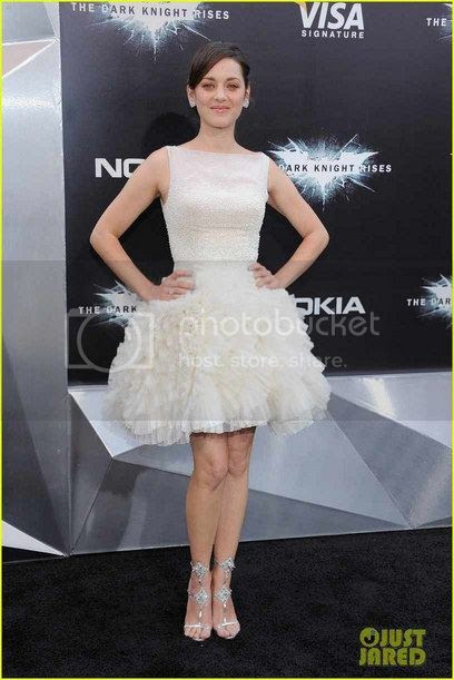 Marion Cotillard The Dark Knight Rises NY Premiere