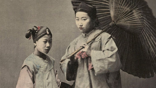 Rare 19th century photographs of Shanghai - BBC News