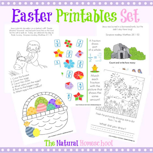 Easter Printables Pack - The Natural Homeschool