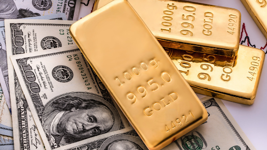 Higher dollar pressures gold,  Futures close up on the day
