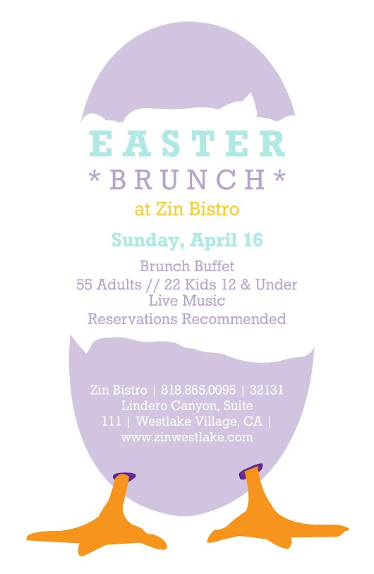 Easter 2017 on the Lake at Zin Bistro