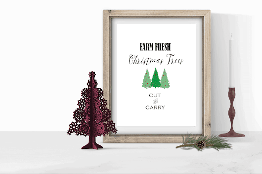 Free Christmas Printables For Your Holiday Home Decor