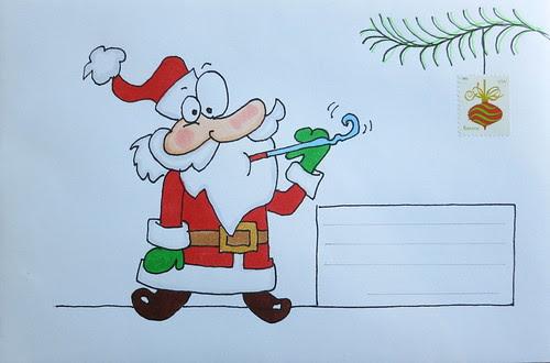 Christmas envelope #5