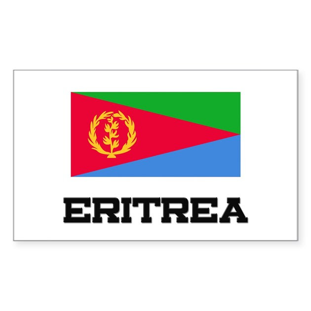 Download Eritrea Flag Rectangle Decal by nationality