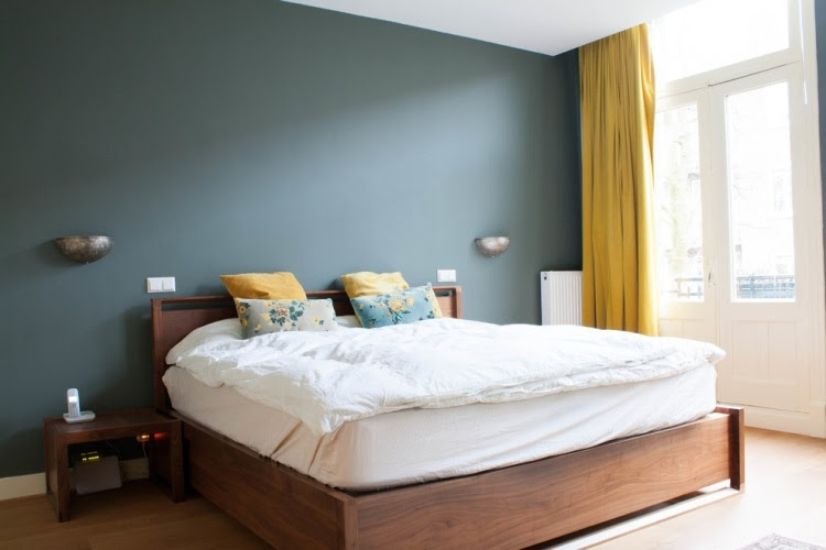 Wandfarbe Grau im Schlafzimmer - 77 Gestaltungsideen