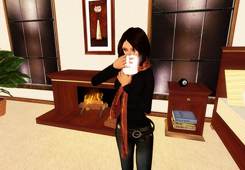 Autumn in SL 3 - Hot Cocoa At Home