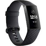 Fitbit Charge 3 - Activity Tracker with Heart Rate Monitor - Black