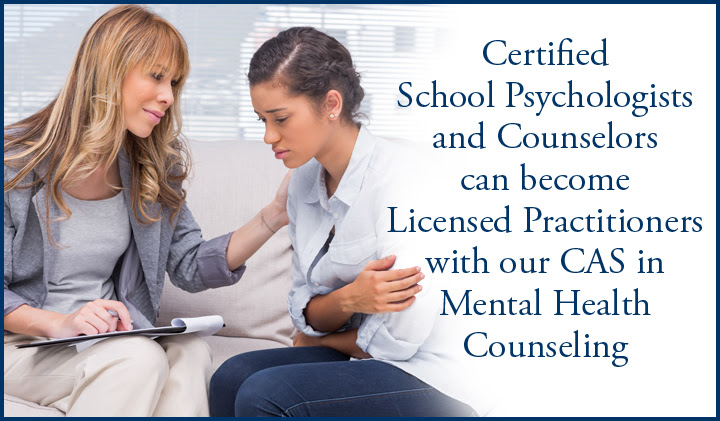 Certificate of Advanced Study in Mental Health Counseling ...