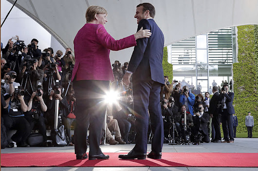 In Macron, Germany sees an opportunity to aid France – and boost the EU