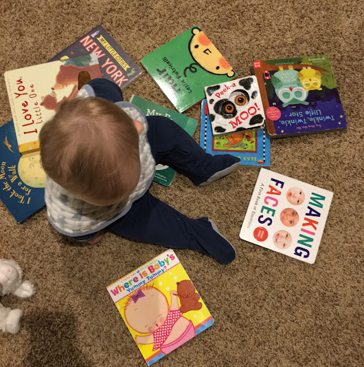 10 Board Books Beloved by My Baby Boy #pb10for10