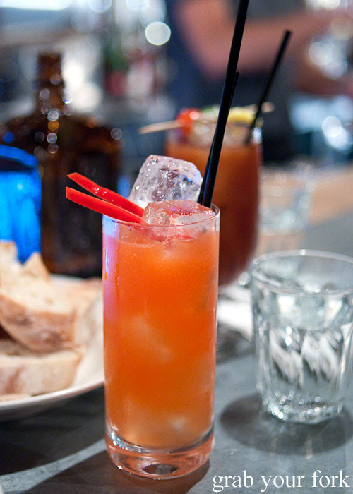 capsicum cooler cocktail freda's chippendale