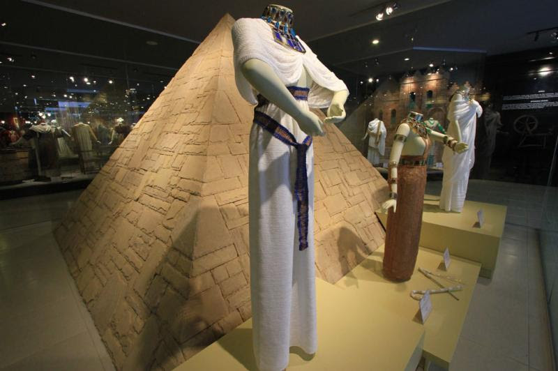 Vestimentas do Egito antigo:imagem 2