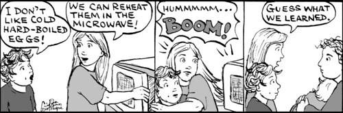 Home Spun comic strip #467