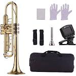 muslady standard bb brass trumpet