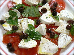 Tomato Mozzarella Basil Olives - 2