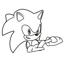 Coloriages Sonic Coloriages Coloriage à Imprimer Gratuit Fr