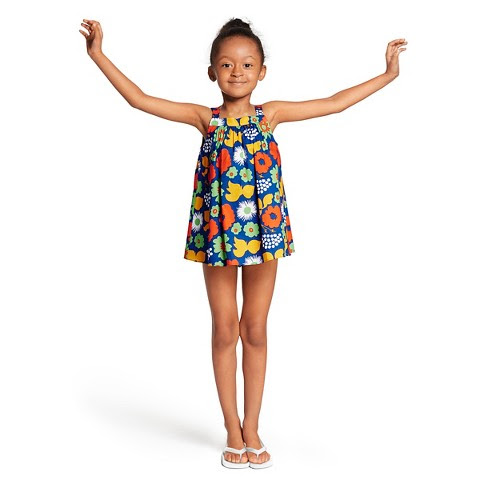 Marimekko for Target Toddler Girls' Dress - Kukkatori Print - Primary