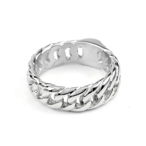 VR109/VE110/VR166 Women Jewelry Motorcycle Chain Ring