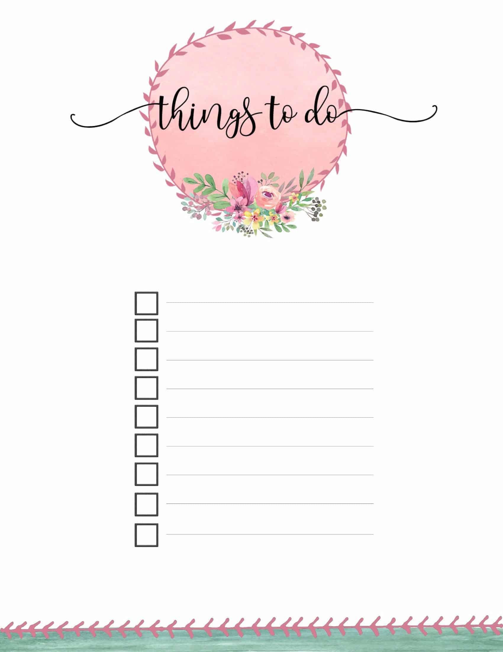 checklist 10 2