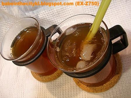 lemongrass honey tea