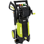 Sun Joe 2030 Psi 1.76 Gpm 14.5 Amp Electric Pressure Washer with Hose Reel, Green