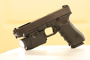 Glock 34 with a GTL 22 attachment