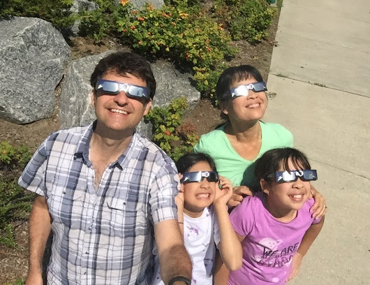 Eclipse Journal: Don't toss those glasses