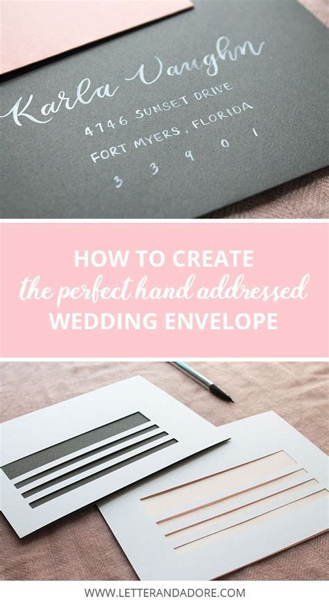 25  best ideas about Envelope addressing on Pinterest