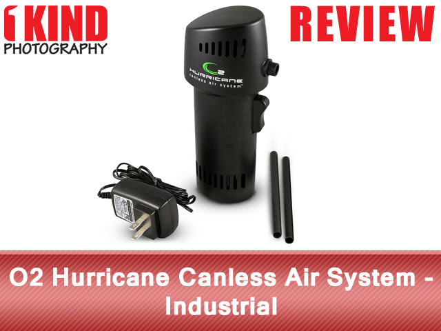 Review: O2 Hurricane Canless Air System - Industrial