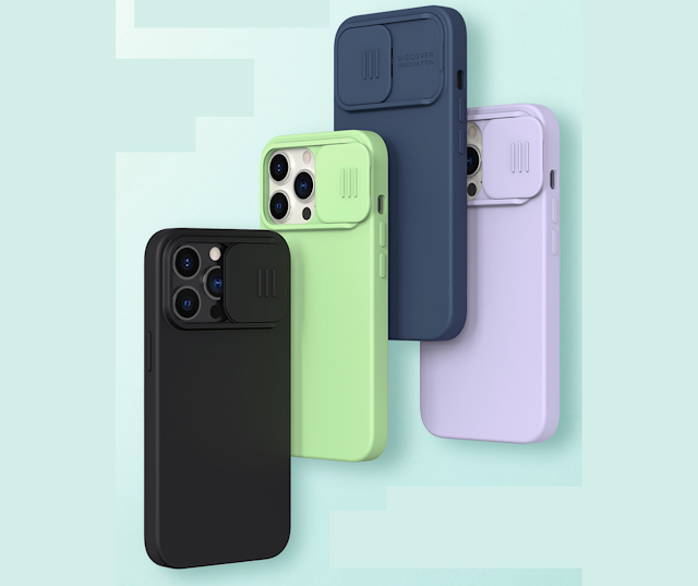 【Nillkin 滑蓋磁吸手機殼 iPhone 13 系列】支援 Magsafe 磁吸無線充電、滑蓋保護鏡頭