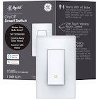 C by GE On/Off Smart Switch Paddle Style - White 93105075