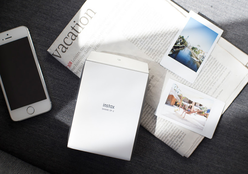 fujifilm instax share smartphone printer SP-2 prints in ten seconds