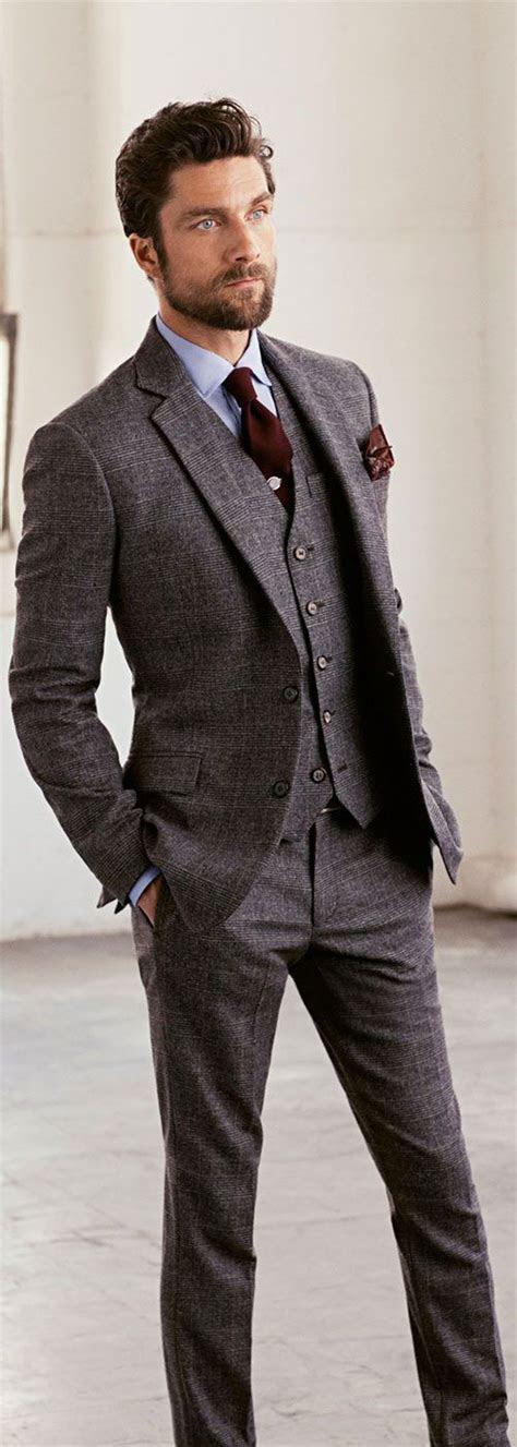 Grey Wedding Suits   Wedding Ideas By Colour   CHWV