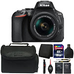 Nikon D5600 Digital SLR Camera with 18-55mm Lens and Ultimate Accessory Bundle