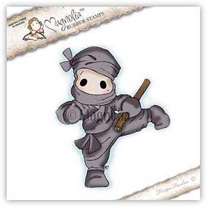 SO: Magnolia EZ Mount Stamp SA15 - Ninja Edwin