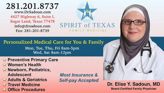Spirit of Texas Family Medicine in Sugar Land, Tx