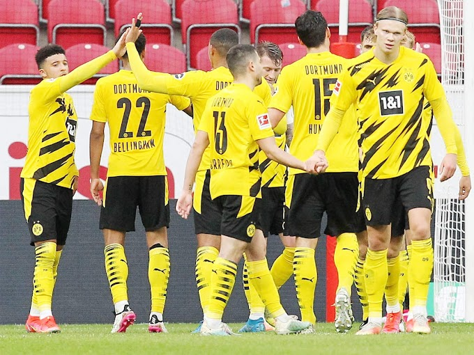 Dortmund secure CL spot with sixth straight Bundesliga win