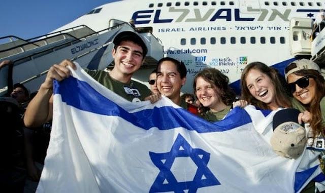 Crise aumenta fluxo de brasileiros para Israel
