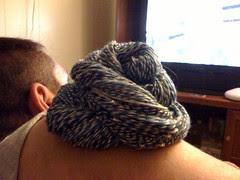 yarn and hubby