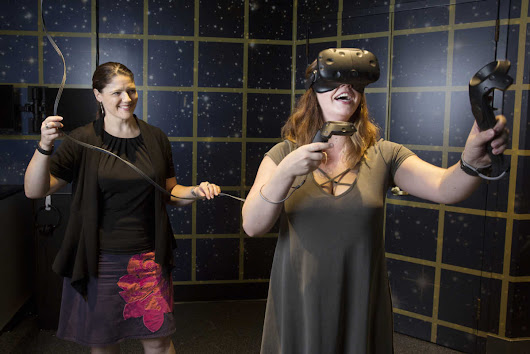 Virtual reality has arrived at the Franklin Institute, and it will blow your mind
