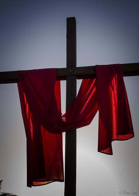 Good Friday cross