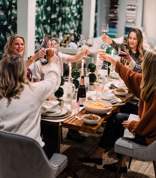 A Southern Inspired Holiday Dinner Party + Giveaway! - The Stripe