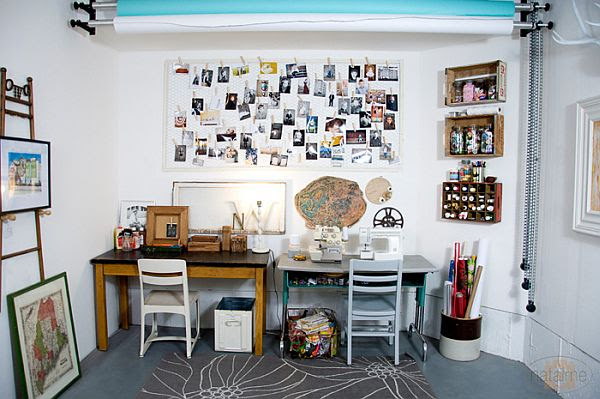 Garage Gets an Aesthetic Make Over; Turns Awesome Studio