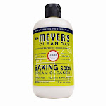 Mrs Meyers Clean Day 70191 Baking Soda Cream Cleaner, Lemon Verbena, 12 Oz