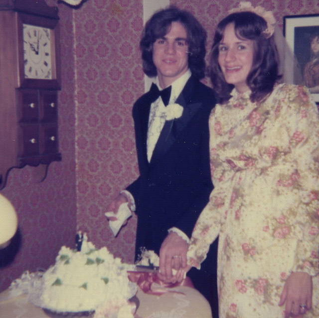 John and Annette (Ryan's parents) Wedding 1975