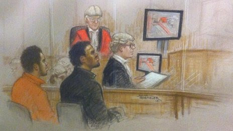 Court sketch from 2 December