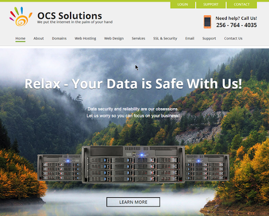 OCS Newsletter - New Site, DDoS, and WordPress Hacks