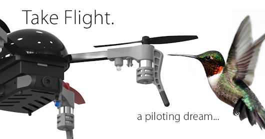 CLICK HERE to support Micro Drone 3.0: Flight in the Palm of Your Hand