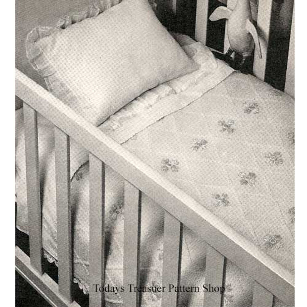 Vintage Baby Blanket, Free Knitting Pattern